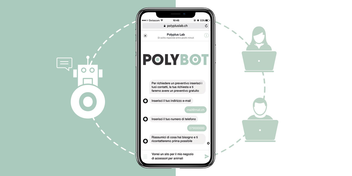Cosa sono i ChatBot e perché cambiano il marketing PolyPlus Lab Lugano