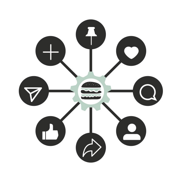 social-media-food polypluslab marketing tentacolare